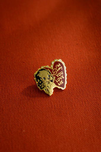 Sorry You Love Me Lapel Pin