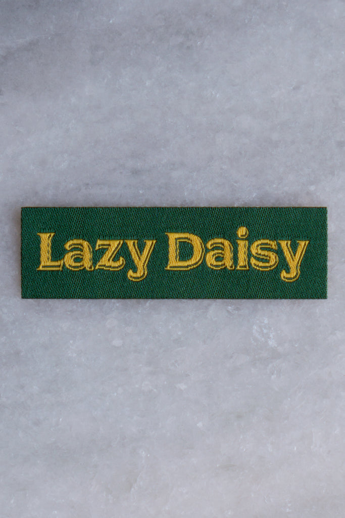 Lazy Daisy Tiny  Patch