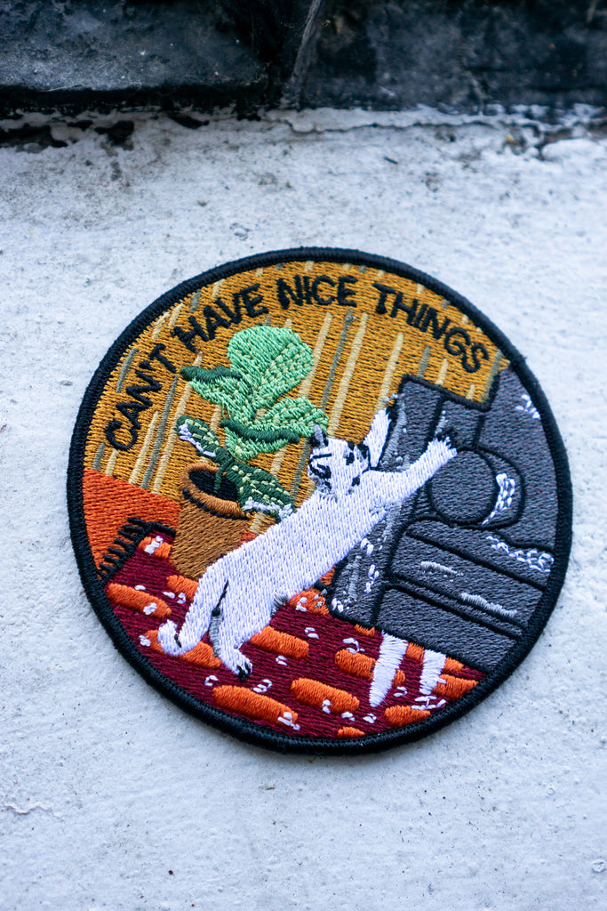 Nice Things (Cat) Patch