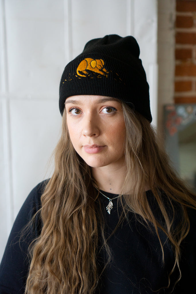 (Dog) Hair Everywhere Embroidered Beanie