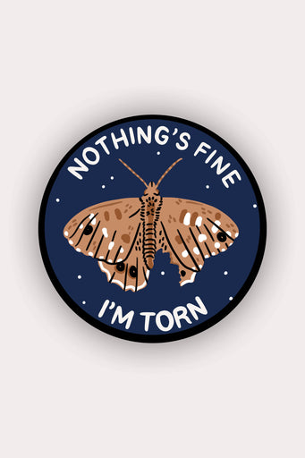 I'm Torn Vinyl Sticker