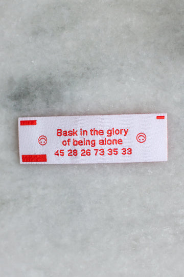 Fortune Iron-On Patch: Glory Edition