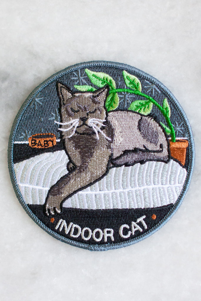 Indoor Cat Patch