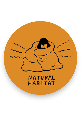 Natural Habitat Vinyl Sticker