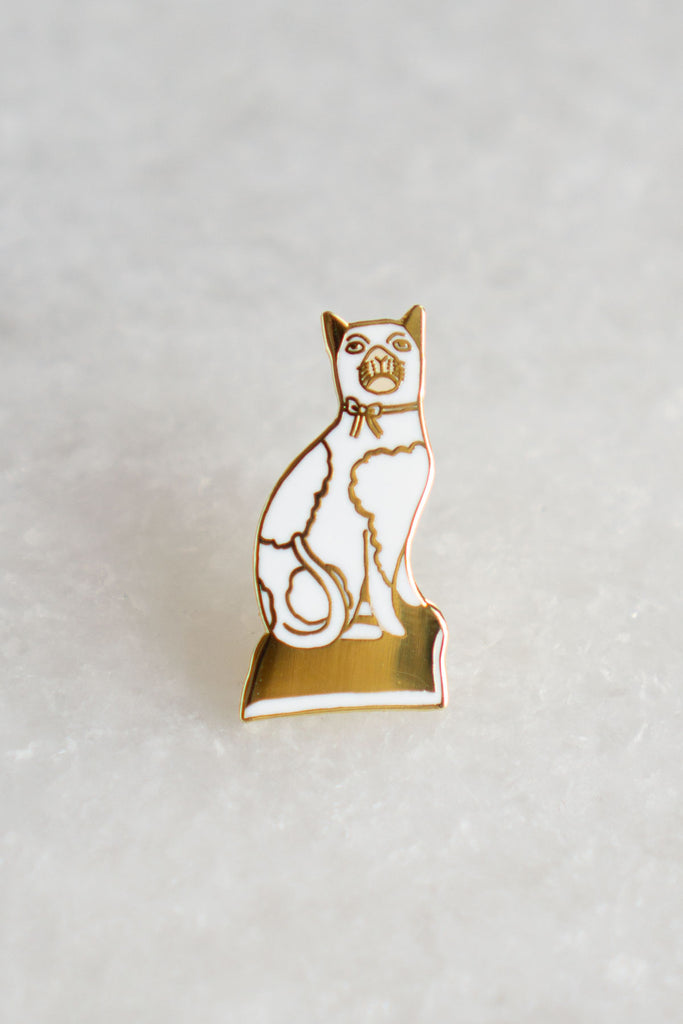 Staffordshire Cat Pin