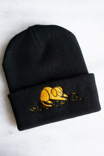 Hair of the Dog Embroidered Beanie