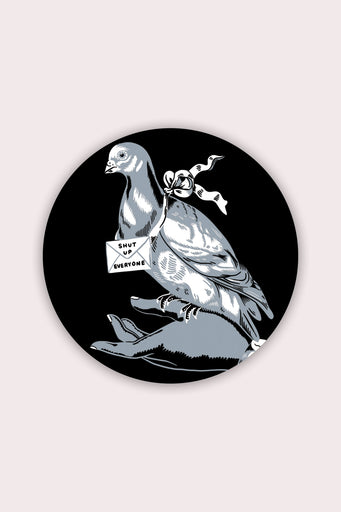 Carrier Pigeon Vinyl Sticker