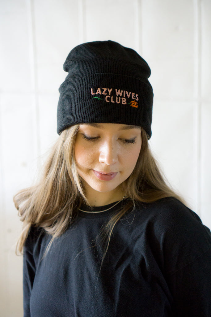 Lazy Wives Club Beanie