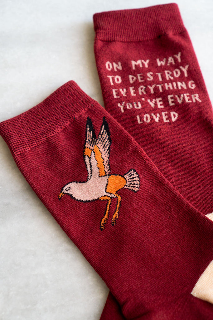 On My Way (Bird) Socks