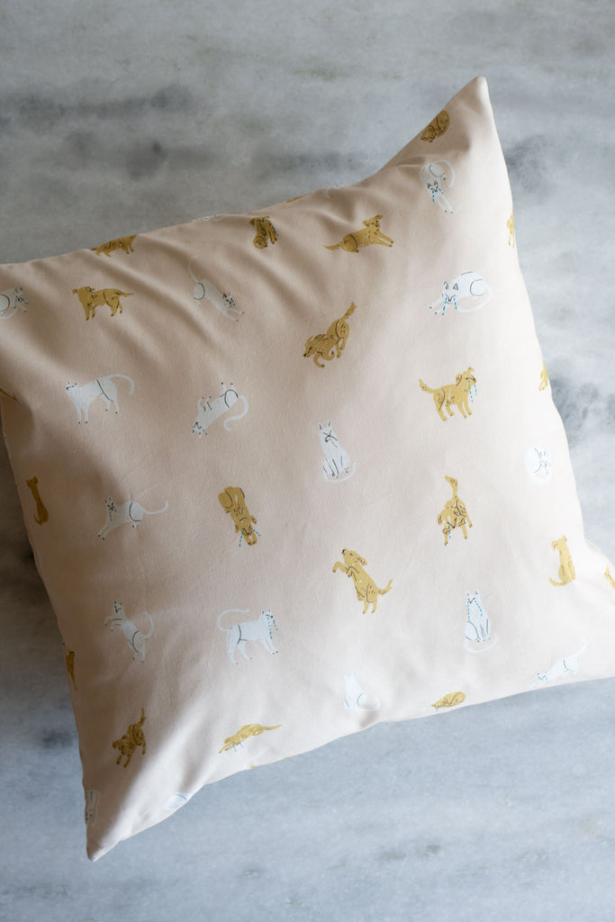 Lost Pets Pillow Cover