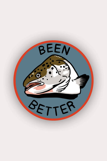 Been Better (Fish) Vinyl Sticker
