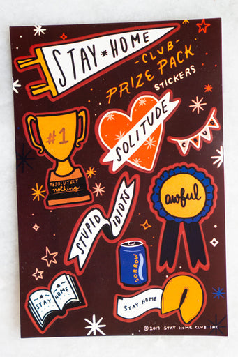 Prize Pack Sticker Sheet