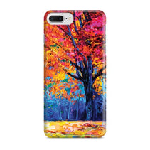 Autumn Tree Painting iPhone 8 Plus Case