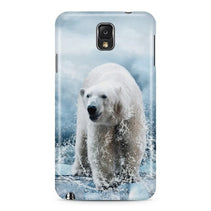 Bear Splashing Water Galaxy Note 3 Case - For Samsung Galaxy Note 3