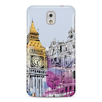Big Ben Illustration Galaxy Note 3 Case - For Samsung Galaxy Note 3
