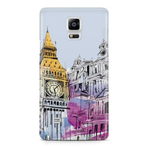 Big Ben Illustration Galaxy Note 4 Case - For Samsung Galaxy Note 4