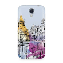 Big Ben Illustration Galaxy S4 Case - For Samsung S4