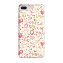 Love & Kiss iPhone 8 Plus Case