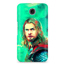 Thor Painting Motorola Nexus 6 Case