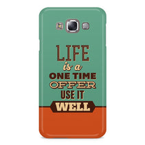 Use Life Well Samsung Galaxy E7 Case