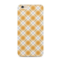 Yellow Checks Pattern iPhone 6S Plus Case - iPhone 6S Plus