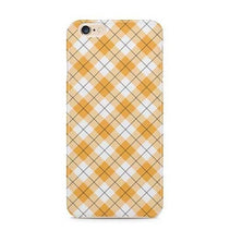 Yellow Checks Pattern iPhone 6s Case - iPhone 6S