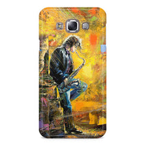 Young Saxophone Player Samsung Galaxy E7 Case