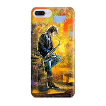 Young Saxophone Player iPhone 8 Plus Case