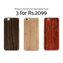 iPhone 6 Plus/6S Plus Real Wood Cases - DOTD