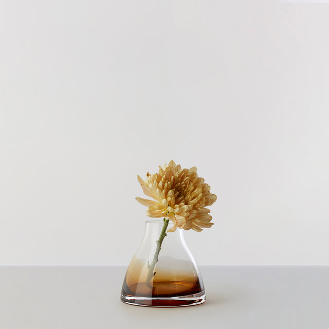 FLOWER VASE no. 1 - Burnt sienna