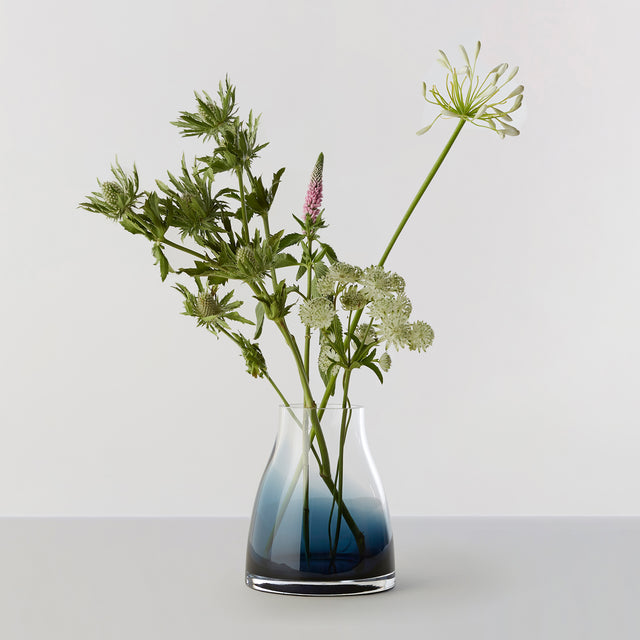 FLOWER VASE no. 2 - Indigo blue