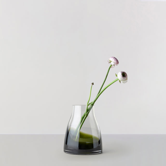 FLOWER VASE no. 2 - Moss green