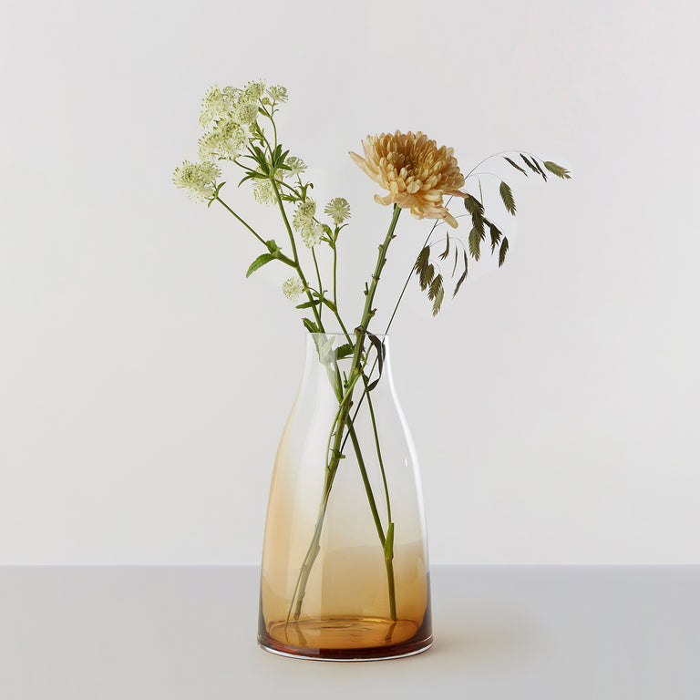 FLOWER VASE no. 3 - Burnt sienna