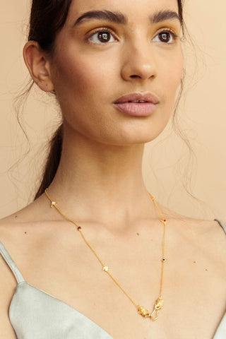 Navratna String Necklace - necklace at the OLIO stories