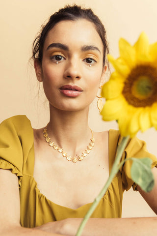 Lotus Choker - necklace at the OLIO stories