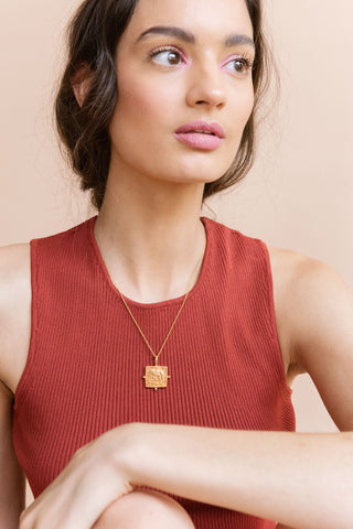 Hathi Pendant - necklace at the OLIO stories