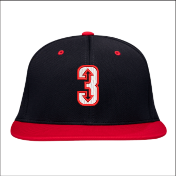 3 Up 3 Down Baseball - Team Hat