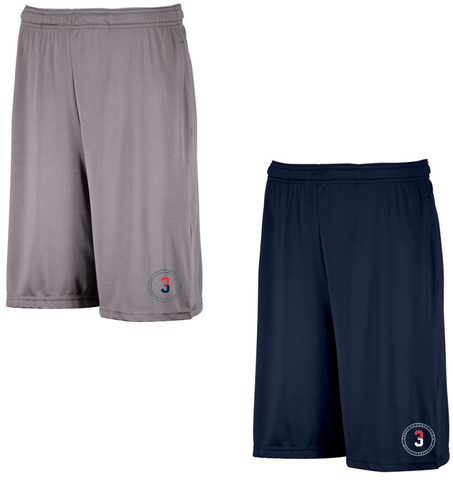3 Up 3 Down Baseball - DriPower Essential Shorts
