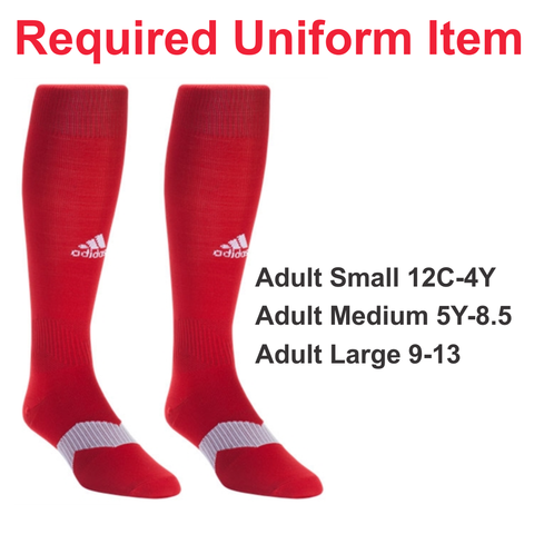 WSC Uniform - Adidas Metro Sock - Required Uniform Item
