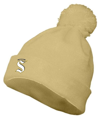 Berks Catholic Baseball - Knit Pom Beanie