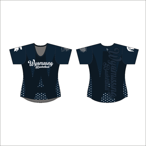 Wyomissing Basketball -  Brute Women's Sublimated Short Sleeve Tech Tee
