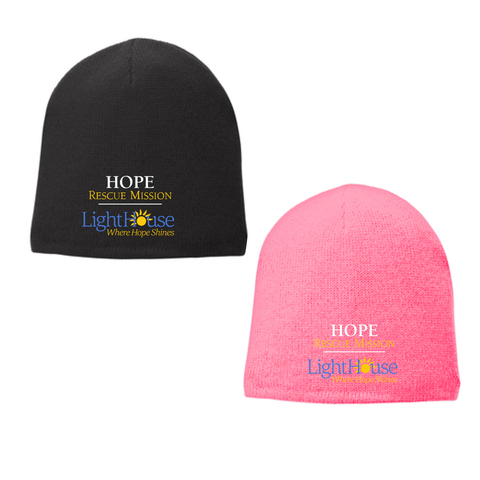 HOPE RESCUE - FLEECE LINED BEANIE