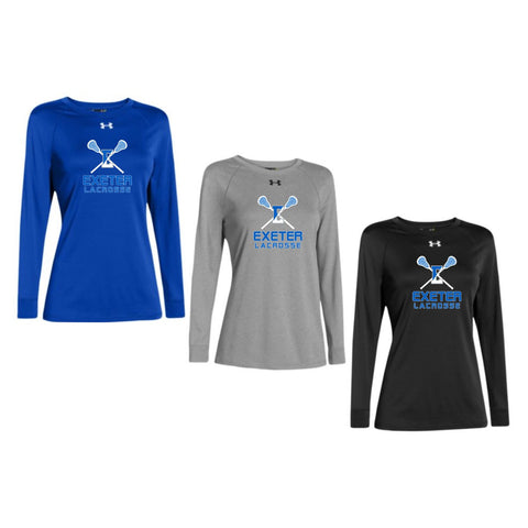 Exeter Lacrosse - Under Armour Women's Longsleeve Locker Tee