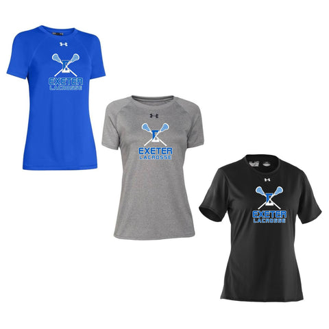 Exeter Lacrosse - Under Armour Women's Locker Tee