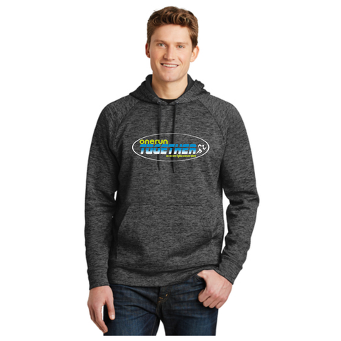 One Run Together - Electric Heather Hoody