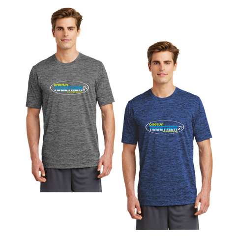 One Run Together - Electric Heather Tee