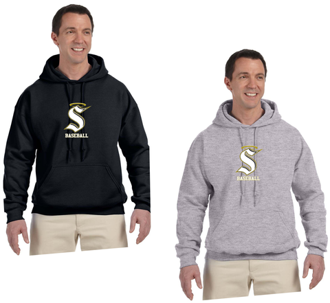 Berks Catholic Baseball - Heavyweight Hooded Sweatshirt