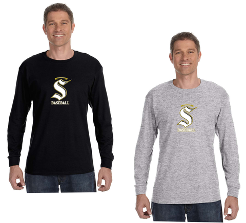 Berks Catholic Baseball - Long Sleeve Tee