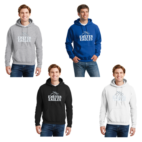Exeter Basketball - Hooded Sweatshirt