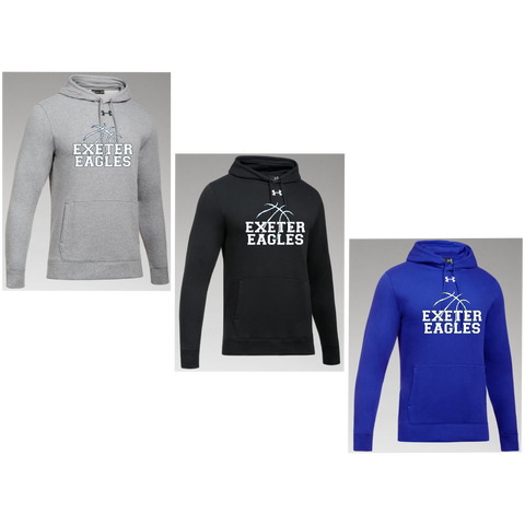 Exeter Basketball - Under Armour Hustle Hoody